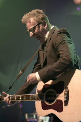Flogging Molly at the House of Blues in Houston on the Green 17 Tour.