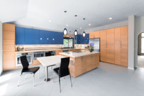 Fully Wheelchair Accessible Kitchen by Designs Anew Houston, LLC